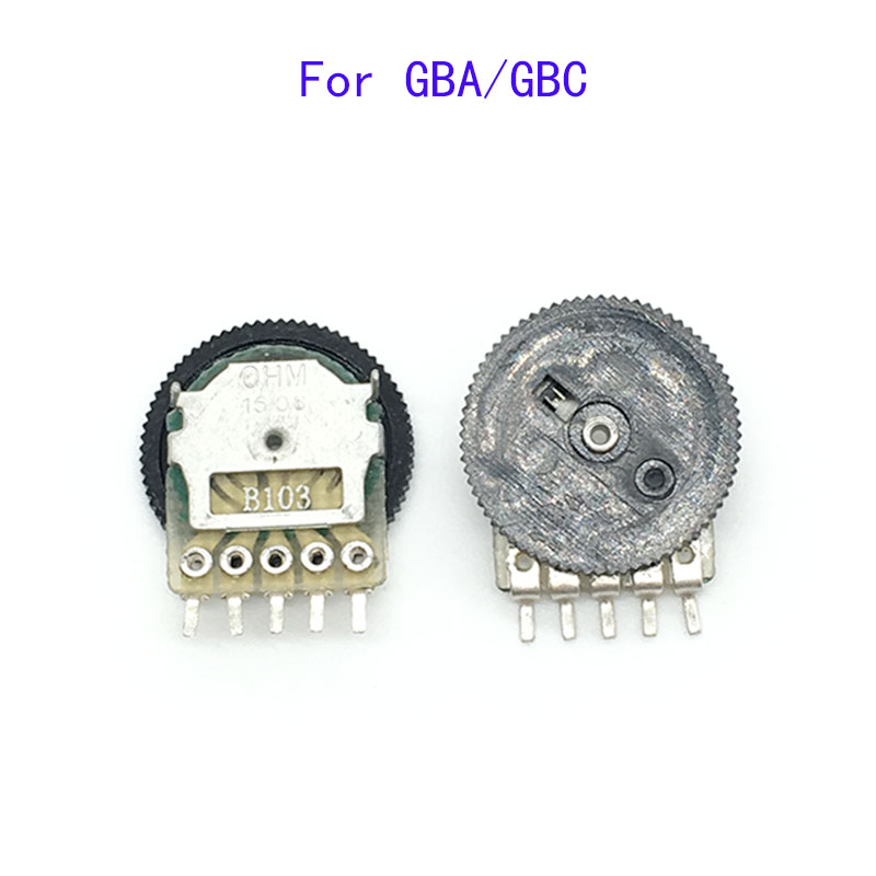 10PCS Replacement Volume Switch For Game Boy For GBA GBC Motherboard Potentiomete