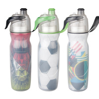 750ML Spray Bicycle Water Bottle MTB Portable Water Kettle Cycling Bicycle Sport Flask Outdoor Bike Kettle