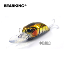 Retail  hot model A+ fishing lure BearKing new crank 65mm&16g 5color for choose  dive 10-12ft,2.8-3.2m fishing tackle hard bait