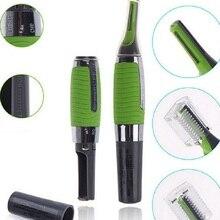 MicroPrecision триммер для бровей, ушей, носа, Машинка для удаления, бритва, персональный Электрический Уход за лицом, тример для волос, светодиодный светильник noserazor