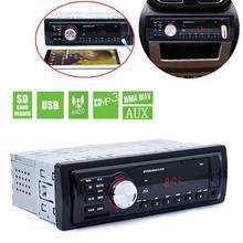 5983 Car In-Dash Stereo Audio FM Aux Input Receiver SD USB MP3 WMA Radio Player 1 DIN цена 2017