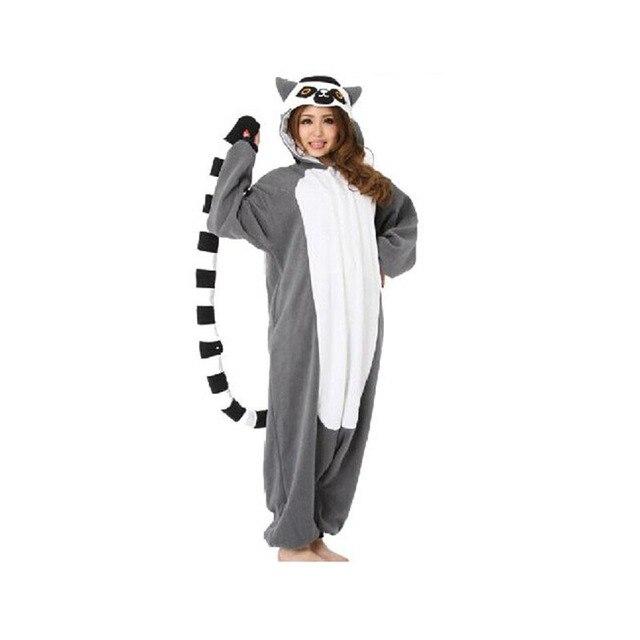 buy 2017 adult animal onesie lemur long. Black Bedroom Furniture Sets. Home Design Ideas