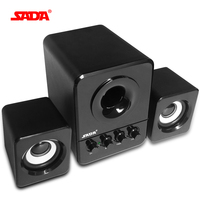 Wired Mini Portable Combination Speaker Laptop Computer Mobile Column Speakers For The Computer