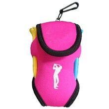 Golf Accessories Bag Small Waist Bag, Pink