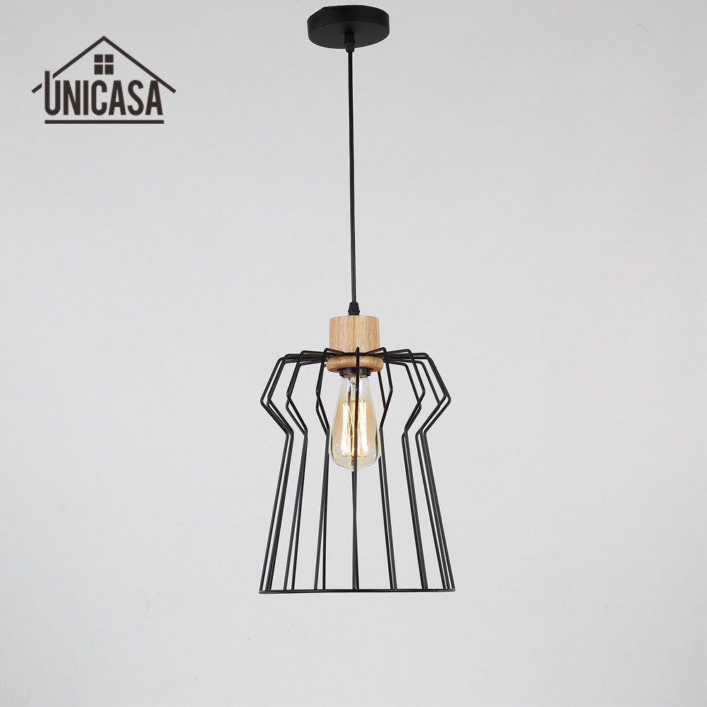 Antique wood mini led light wrought iron lighting fixtures for Modern island pendant lighting