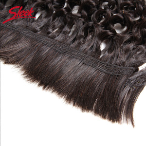 Image 3 - Sleek Remy Human Hair Indian Kinky Curly Bundles Hair For Braiding In Natural Color 8 To30 Inch Crochet Braids No Weft Hair Bulk