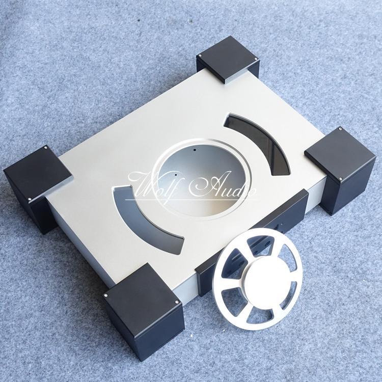 Plein aluminium glande type lecteur CD châssis platine CD boîtier CD enceinte bricolage