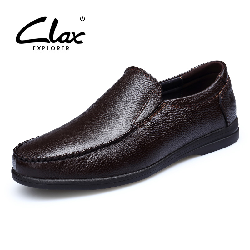 CLAX Mens Moccasin Summer Autumn Casual Leather Shoes Male Genuine Leather Loafers Boat Shoe chaussure homme Plus SizeCLAX Mens Moccasin Summer Autumn Casual Leather Shoes Male Genuine Leather Loafers Boat Shoe chaussure homme Plus Size