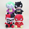 "4 unids/set El Flash Batman Harley Quinn El Comodín de Peluche y Juguetes de peluche Muñecos de Peluche Suave aprox 8 ""20 cm"