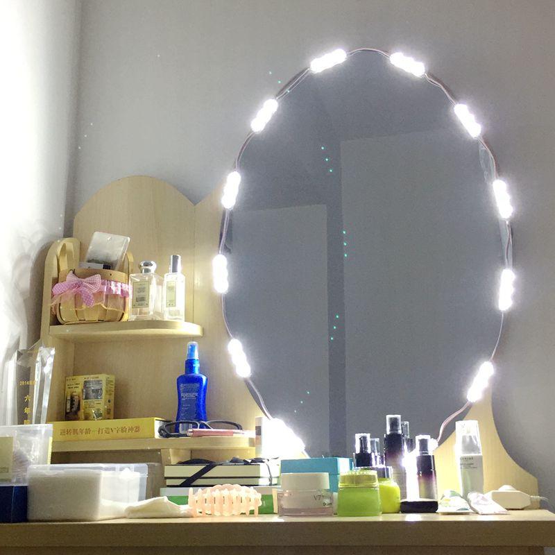 Lights & Lighting Devoted Diy Hollywood Style Led Mirror Light Dimmable 60 Leds 9.8ft Led Module Makeup Mirror Vanity Led Light For Dressing Table/kitchen