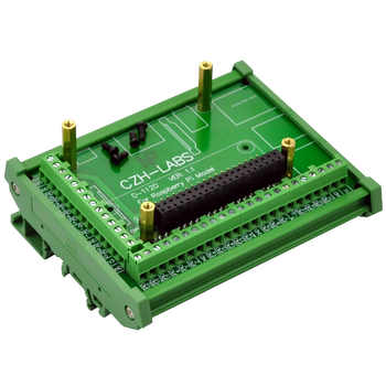 DIN Rail Mount Screw Terminal Block Adapter Module, For Raspberry Pi 1 Model B+ / Pi 2 Model B / Pi 3 Model B / Pi 1 Model A+. - DISCOUNT ITEM  0% OFF All Category