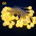 2017 Multicolor Holiday Romantic Ball led String AA battery Garland Pendant Light for Garden Decoration Party Decoration Supply