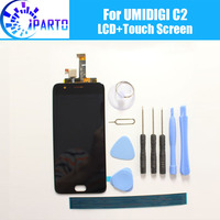 UMIDIGI C2 LCD Touch Screen 100 Original LCD Digitizer Glass Panel Replacement For UMIDIGI C2 Tool