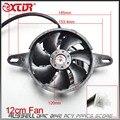 Radiador eléctrico Térmico de Enfriamiento 12 cm Ventilador de Alta 200cc 250cc Chino Dirt Pit Bike ATV Quad 4 Ruedas Go Kart Buggy UTV