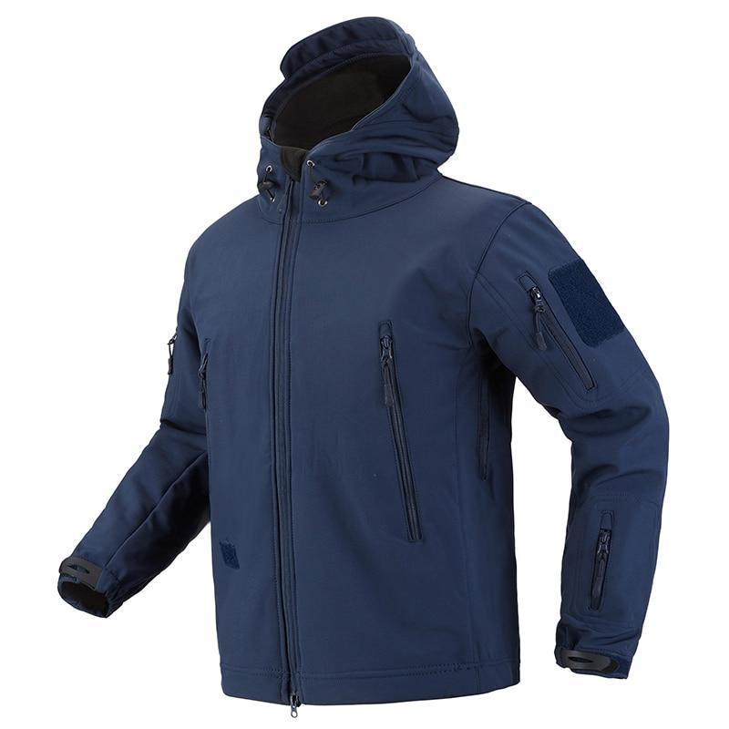 HTB1IRxwvTCWBKNjSZFtq6yC3FXa3 - ReFire Gear Navy Blue Soft Shell Military Jacket Men Waterproof Army Tactical Jacket Coat Winter Warm Fleece Hooded Windbreaker