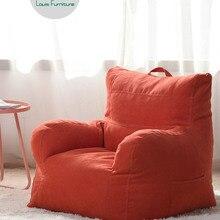 Модные диваны в виде бобов в стиле Луи, прекрасный Одноместный ленивый татами, мягкая спальня в скандинавском стиле