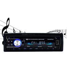 NEW Hot Single Din Car Bluetooth DVD CD Player Vehicle MP3 Stereo Radio 2400BT