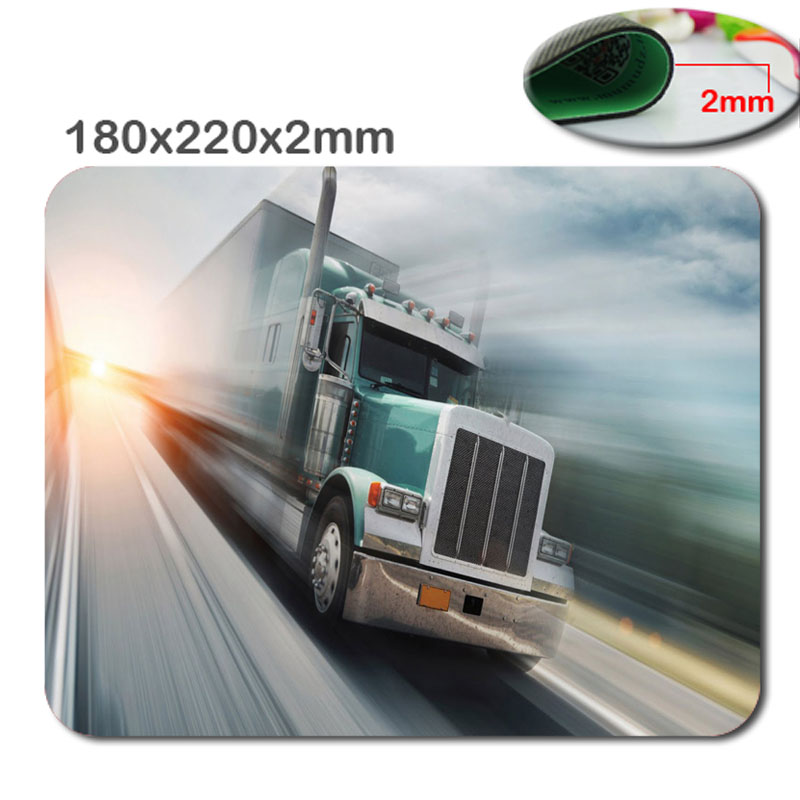 Beautiful Retro News Sell Small Size Car Mouse Pad Non-Skid Design Rubber gaming mouse pad for the office gift 180 * 220 * 2 mm
