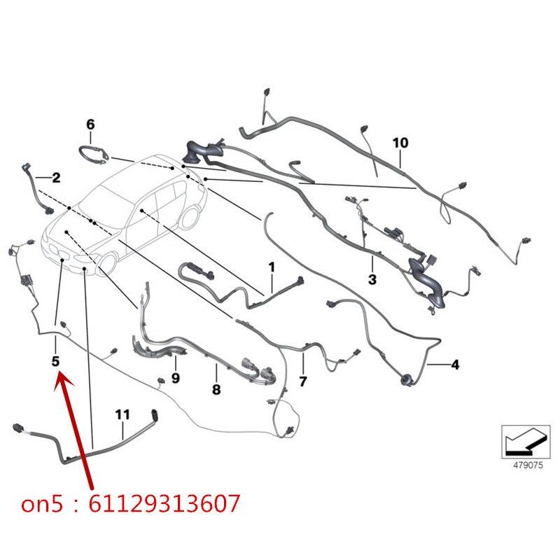 Aliexpress Com Buy 61129313607 Front Bumper Reversing Radar