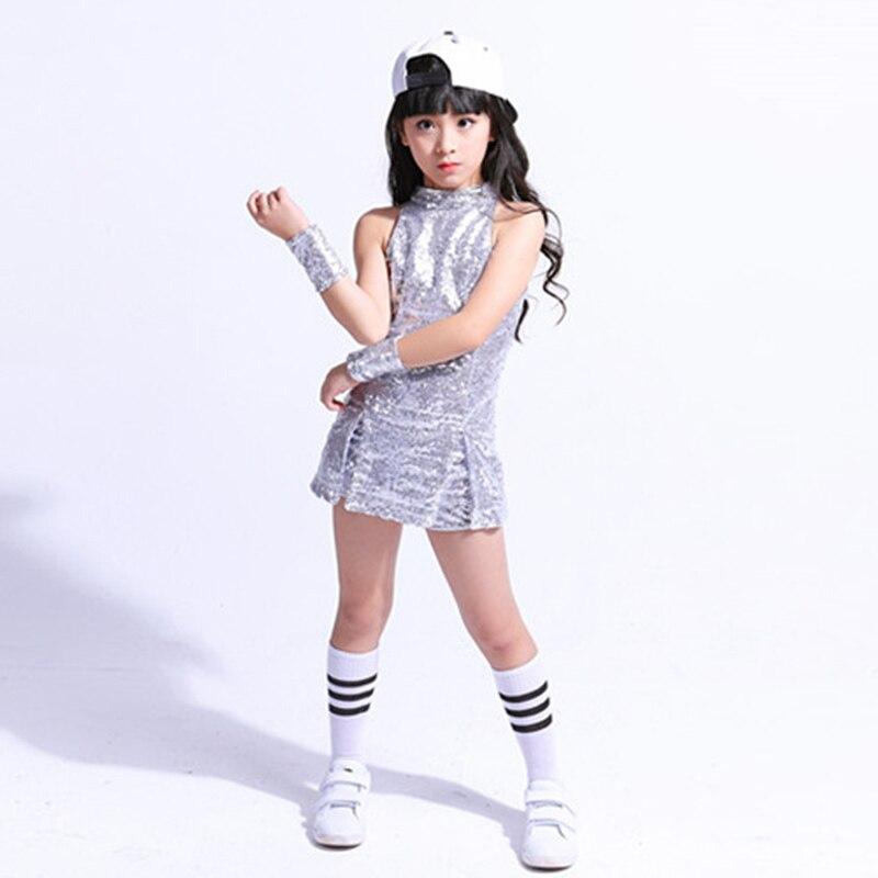 033403bce037 Dropwow SONGYUEXIA Children stage Dancewear Kid Hip-hop Jazz Dance ...