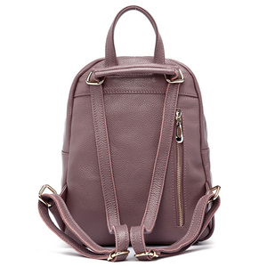 Image 4 - Zency Womens Genuine Leather Backpacks Ladies Fashion Travel Bags Femal Daily Holiday Knapsack Preppy Style Girls Schoolbag