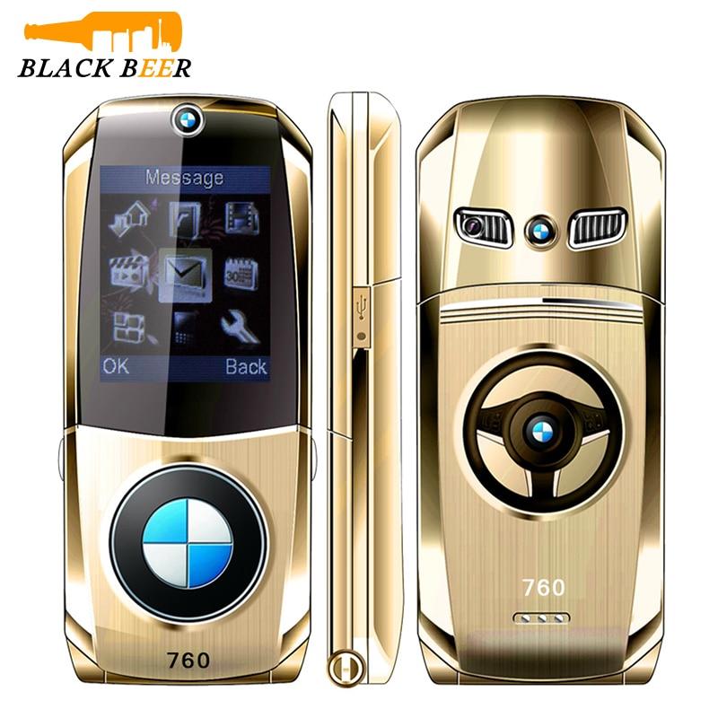 Фото. Mosthink W760 автомобиль форма флип маленький мобильный телефон Размер 2G GSM мобильный телефон две