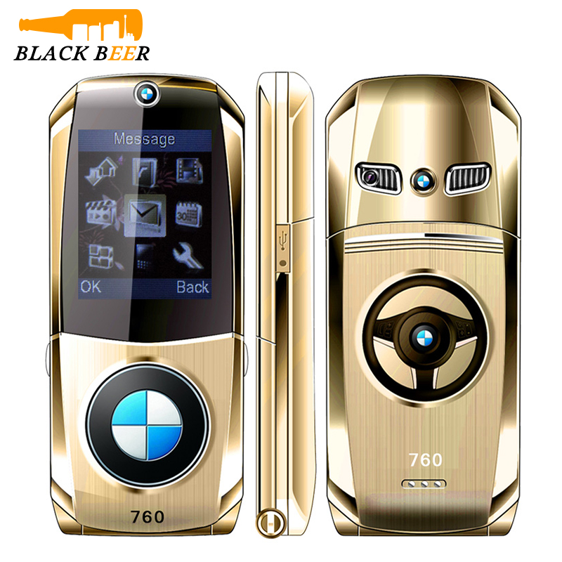 Mosthink W760 Car Shape Flip Mobile Phone Small Size 2G GSM Cell Phone Dual SIM Cards Seniors Phone Russian Keyboard Cheap