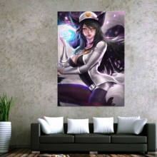 Home Decor Modular Canvas Picture 1 Piece Ahri LOL League of Legends Game Painting Poster Wall Wholesale
