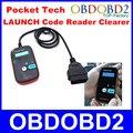 LANÇAMENTO Bolso Tecnologia Direct Selling Original Lançamento X431 OBD2 Leitor de Código de Veículo Mais Clara Portátil PocketTech Verificar a Luz Do Motor