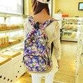 2017 Canvas Backpack Rucksack Travel Satchel Shoulder School Bag