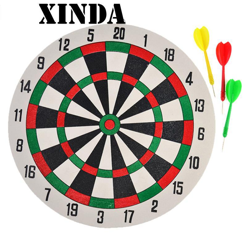 1 Set Funny New Dart Board &Darts Game Set Perfect for Man Cave Game Room Kids Decoration rowsfir dart board 6 darts set funny play dartboard soft head darts board game toy fun party accessories gambling new year gift