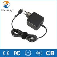 Для ASUS EU Plug X205T X205TA 11,6-дюймовый ноутбук, новинка, Заводская розетка 19V 1.75A 33W AC адаптер питания для ноутбука, зарядное устройство