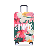 Protective Luggage Cover Suitcase Elastic Thicken Case Travel Box Dust Cover SCENE Design 18/20/21/22/24/26/28/30/32'