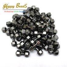 10 шт./лот 8*20 мм черный гантелей для распорной детали подвески-шармы вышитый бисером Фитнес изготовление браслетов(w03523