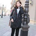 2016 women fashion design raccoon coat collars show thin long coat, down jacket the woman