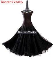 Modern Dance Dress Performence Ballroom Dance Dance Dress New 2018 Swing Dress Costume Contest Adult Waltz