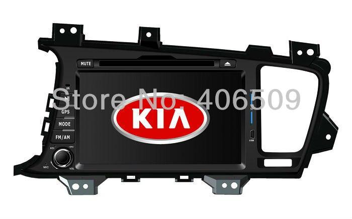 8 in dash head unit car dvd player gps navigator for kia. Black Bedroom Furniture Sets. Home Design Ideas
