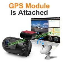 Original Mini 0805 Full HD Video Recorder Car Camera DVR Ambarella A7 A2 1080P 1296P SOS+GPS Optional Car Video Recorder