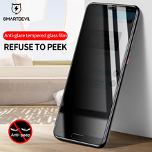 SmartDevil 3D Tempered glass For Huawei p20 Pro P20 Screen Protector Anti Privacy Full Cover Explosion-Proof Protective