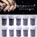 Nova 1 pc 3D Renda Preta Folha Da Arte do Prego Adesivos Decalques para Unhas Flor Dicas Manicure Ferramenta