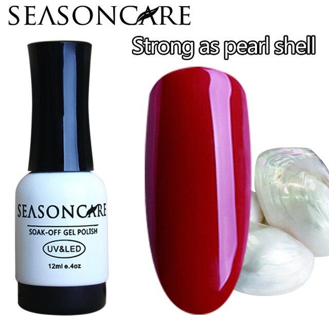 SEASONCARE GelPolish Pearl аромат Цвет длительное Nail Art Маникюр 30 цвета Замочите от УФ-Светодиодной Гелевые польский