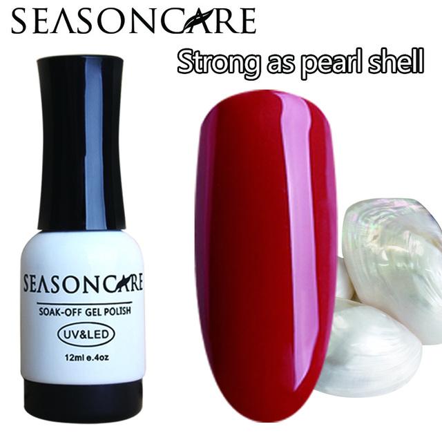 SEASONCARE GelPolish Perla Color de la fragancia De Larga duración de Uñas de Arte Manicura 30 colores Soak-off Gel UV Led polaco
