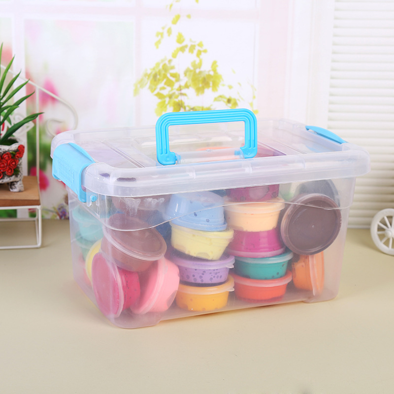 24 colors With 3 Tools Air Drying Super Light Plastic clay Colorful Plasticine Polymer Educational Soft Play Dough toy gift