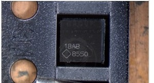 Image 1 - 2 pièces/lot nouveau original pour Macbook Air A1466 820 3437 U7701 LCD rétro éclairage ic puce LP8550 8550 25 broches sur la carte mère