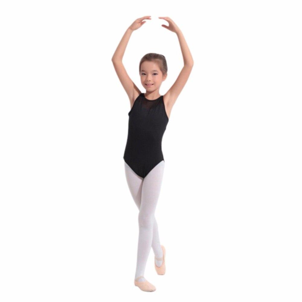 100% Kwaliteit Liva Meisje Kids Jumpsuit Turnpakje Mouwloze Gymnastiek Dragen Ballet Dancewear Kostuum Dans Jurk Ballet Punctual Timing