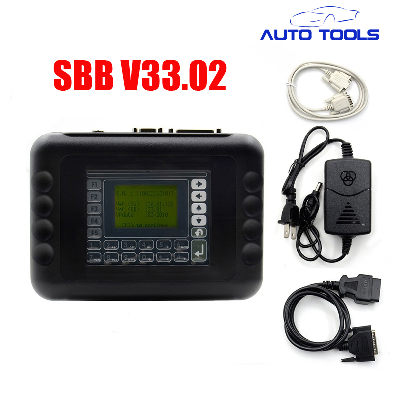 For silca SBB car Key Programmer SBB V33.02 Professional Auto Key Programmer car key cloner original obdstar vag pro auto key programmer no need pin code support new models and odometer vag key programmer free shipping