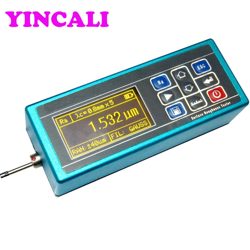 High Accuracy KR210 Portable Surface Roughness Meter Tester High price performance easy to use possession 14 Testing Parameters