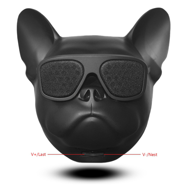 Bull Dog Altavoz Inalámbrico Portátil con Bluetooth Mini Altavoz Bluetooth 4,1 MP3