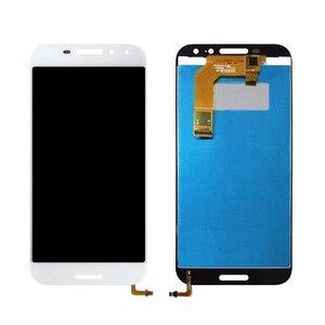 Image 2 - 100% pracy test 5.0 cal czarny biały dla Vodafone inteligentne N8 LTE VFD610 zintegrowany wyświetlacz LCD + ekran dotykowy dla vodafone VF610