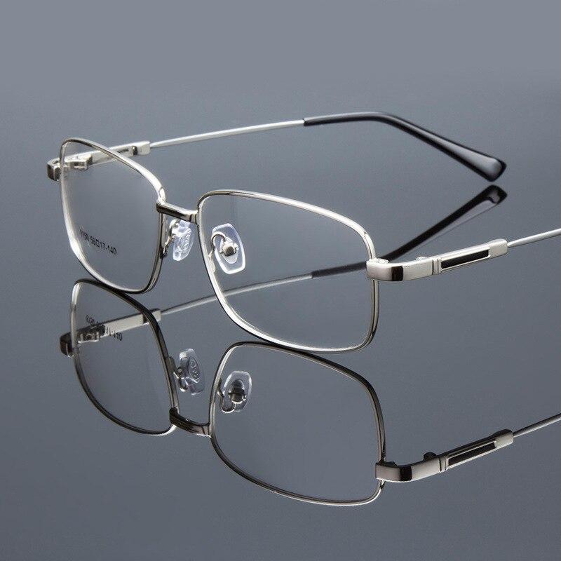 5934c80faf Man Memory Titanium Myopia Glasses Optical Classic Men Eyeglasses Frame  Flexiable Spectacle Lightest Eyewear